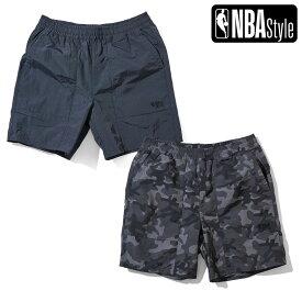 【NBA Style 2021 SS】 NBA リサイクルナイロン ハーフパンツ
