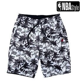 【NBA Style 2021 SS】 Miami Heat グラフィティ リバーシブル ハーフパンツ / マイアミ・ヒート ショートパンツ