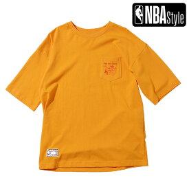 【NBA Style 2021 SS】 Hardwood Classics New York Knics ポケット ルーズフィットTシャツ / ニューヨーク・