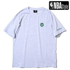 【NBA Style 2021 SS】 Championships Collection Boston Celtics チームロゴ ルーズフィットTシャツ / ボストン・セルティックス