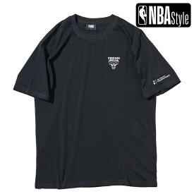 【NBA Style 2021 SS】 Championships Collection Chicago Bulls チームロゴ ルーズフィットTシャツ / シカゴ・ブルズ