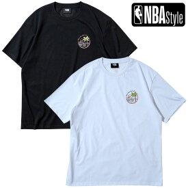 【NBA Style 2021 SS】 Miami Heat サマーグラフィックロゴ ルーズフィット Tシャツ / マイアミ・ヒート