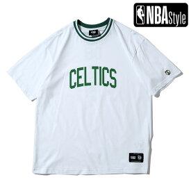 【NBA Style 2021 SS】 Champions Collection Boston Celtics チームロゴ ルーズフィットTシャツ / ボストン・セルティックス