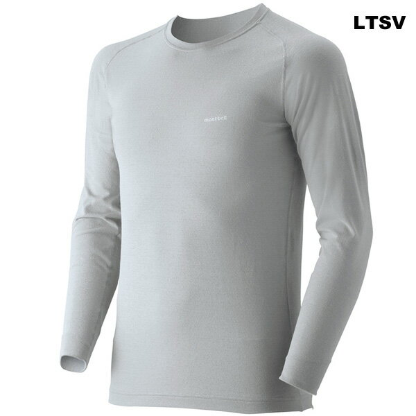 mont-bell(モンベル) ジオラインM.W.ラウンドネックシャツ Men's 1107282