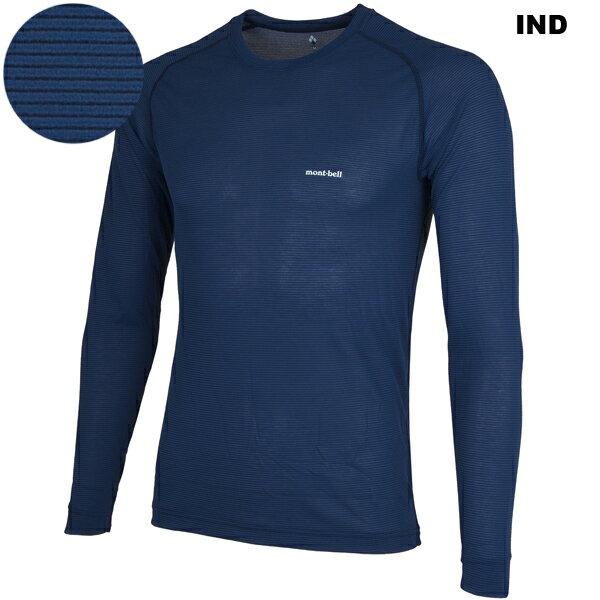 mont-bell(モンベル) ジオラインL.W.ラウンドネックシャツ Men's 1107486