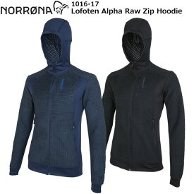 NORRONA(ノローナ) Lofoten Alpha Raw Zip Hoodie Men's 1016-17