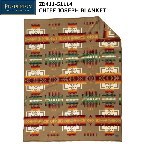 PENDLETON(ペンドルトン) Chief Joseph Blanket ZD411-51114 (カーキ)