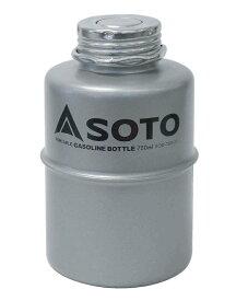 SOTO ソト 新富士バーナー ポータブルガソリンボトル/750ml SOD-750-07 バーナー ストーブ ガソリンボトル