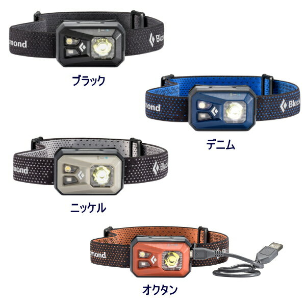 ブラックダイヤモンド リボルト 充電式 LEDヘッドライト