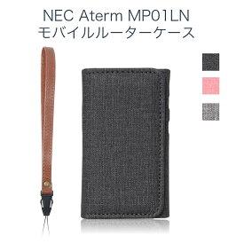 NEC Aterm MP01LN 専用 モバイルルーターケース保護フィルム 付