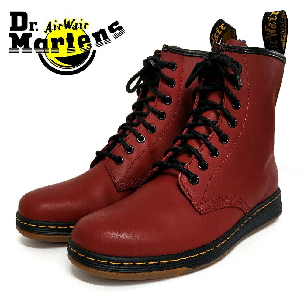 ポイント10倍【Dr.Martens ドクターマーチン】DM's LITE NEWTON 8EYEBOOT 8ホールブーツ(21856600) チェリーレッド メンズシューズ 革靴 カジュアル ビジネス 紳士靴【02P05Nov16】