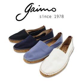 【GAIMO ガイモ】 エスパドリーユ (CAMPESINO LONA 112) スペイン製 キャンバススリッポンシューズ メンズ スニーカー