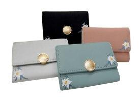 花柄 カードケース (磁気防止素材 フラワー 20枚収納) PT19-194