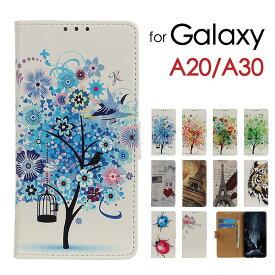 Galaxy A20 カバー ケース Galaxy A20 sc-02m ケース Galaxy A30ケース Galaxy A20カバー キャラクター 可愛い GalaxyA20 手帳型 スマホケース ギャラクシーA20ケース A30ケース SCV46 SCV43 カバー マグネット おしゃれ スタンド カード 耐衝撃