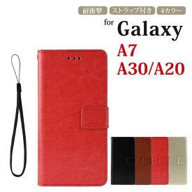 Galaxy A7 ケース Galaxy A7 ケース 2019 手帳型 Galaxy a7 カバー 耐衝撃 Galaxy A20 カバー ケース Galaxy A20 sc-02m 手帳型 かわいい Galaxy A7ケース GalaxyA7 手帳型ケース ギャラクシー A20 A30 ケース SCV43 カバー マグネット 高級 ストラップ付