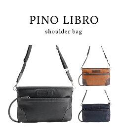 【ピノリブロ】横型ショルダー ビジネスバッグ B4サイズ メンズバッグ 2PL6113 ビジネス PCバッグ 送料無料
