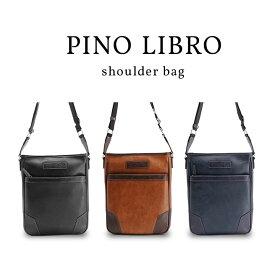 【ピノリブロ】横型ショルダー ビジネスバッグ B4サイズ メンズバッグ 2PL6114 ビジネス PCバッグ 送料無料