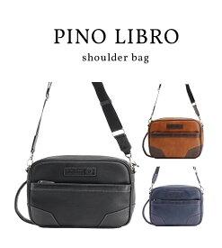 【ピノリブロ】横型BOXショルダー ビジネスバッグ B4サイズ メンズバッグ 2PL6115 ビジネス PCバッグ 送料無料