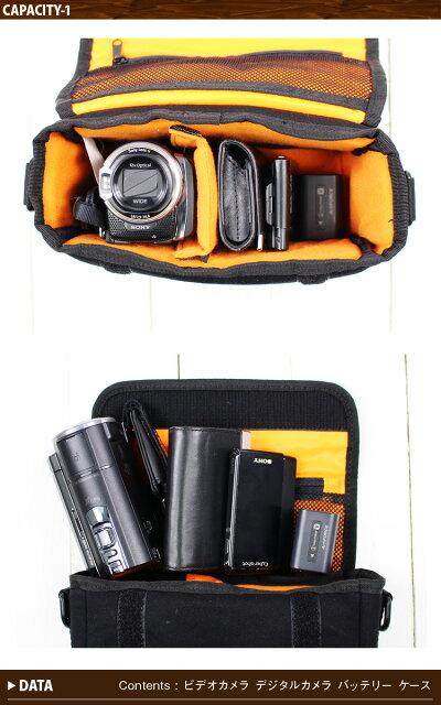 Healthknitヘルスニットカメラバッグ一眼レフミラーレス一眼おしゃれミニショルダーバッグ斜めがけバッグ斜め掛けバッグ遠足運動会発表会イクメンカメラケースデジカメビデオカメラケースインナー保護クッションバッテリーカメラショルダーバッグ