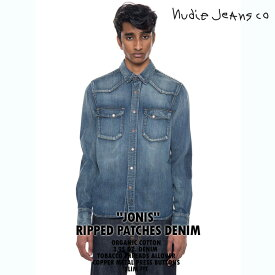 NudieJeans ヌーディージーンズ JONIS ジョニス RIPPED PATCHES 140485】