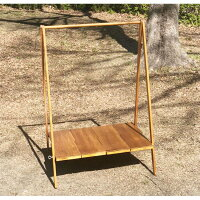 木製AラックハンガーラックシンプルA型ハンガー木製