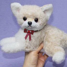 2 特典付き チワワ プレゼント ギフト ぬいぐるみ犬 犬グッズ ファー ハンドメード 羊毛フエルトではない ギフト プレゼント用