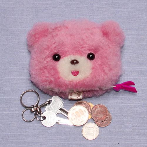 クマ コインケース 小銭入れ キーケース