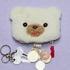 コインケース クマ かわいい クマグッズ 小銭入れ ぬいぐるみ