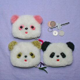 コインケース パンダ かわいい 小銭入れ 上野パンダ