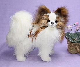 パピヨン ぬいぐるみ 犬 世界でたった一体のパピヨン 特選品
