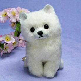 白子犬 母の日 プレゼント ギフト ぬいぐるみ 子犬グッズ リアル かわいい 置物 癒しグッズ