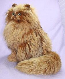 ペルシャネコ 猫 ぬいぐるみ 猫インテリア 特大 リアル