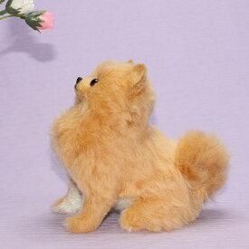 上向きポメぬいぐるみくま犬猫パンダ テディベアぬいぐるみ犬くま ねこパンダウサギ ギフト動物ぬいぐるみ作家