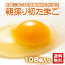 【たまご 卵 玉子 】 朝採り 初 たまご 108個 (破損補償10個含む)【エントリーでポイント10倍 ひなたまこっこ 美味しい 卵焼き たまごかけごはん 卵...