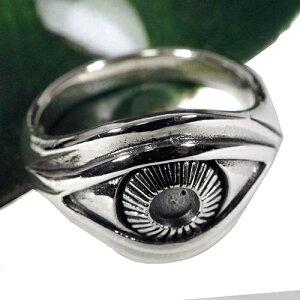 フリーメイソン プロビデンスの目 スターリングシルバー リング(指輪) ホルスの目 純銀 シルバー925【メール便対応可】