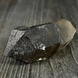 【一点物】ヒマラヤ水晶(ガウリシャンカール産) スモーキークォーツ(煙水晶) ナチュラルポイント 原石 173g 天然石 パワーストーン クリスタル【送料無料】