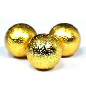 【数量限定】ギベオン隕石 ビーズ ゴールド 12mm 1粒売り 本物保証 鉄隕石 AAAAAグレード ロジウム加工 メテオライト【送料無料】