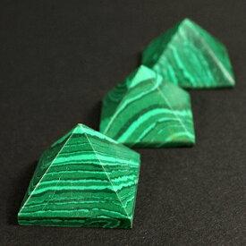 天然マラカイト ピラミッド Sサイズ|アフガニスタン産|瑠璃石|原石