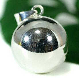 メキシコ MUSICAL BALL ミュージカルボール シンプル ペンダントトップ 25mm ガムランボール 音玉 ミュージック 鈴 鐘(ベル) オルゴール【メール便対応可】