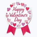 【メール便対応】バレンタインデーシールプレシャスハートサイズ:縦45×横35mm入数:30枚(6枚×5シート)【在庫限り】