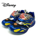 【 Disney ディズニー カーズ スニーカー ブルー 7415-02 】靴 運動靴 幼稚園 小学生 男の子 子ども 子供 こども キッズシューズ 靴 子供靴 キャラクター靴 シューズ 男児 CARS マックィーン 15cm 16cm 17cm 18cm 19cm