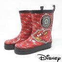 新柄【 Disney CARS カーズ キッズ レインブーツ レッド 7118】ディズニー 幼稚園 小学生 男の子 子ども …