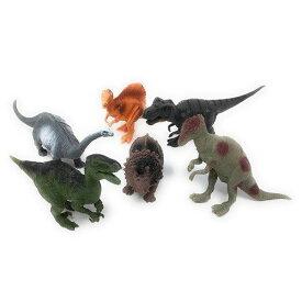 【 リアル 恐竜 フィギュア 6体セット】人形 ジオラマ 置物 ティラノサウルス トリケラトプス スピノサウルス ヴェロキラプトル パキケファロサウルス ステゴサウルス アンキロサウルス ブラキオサウルス スーパーサウルス