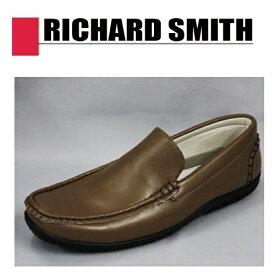 【RICHARD SMITH ローファー ダーク ブラウン 1015-03 】メンズ 靴 ブラック ワイン 安い ビジネス シューズ フォーマル カジュアル 紳士 リチャードスミス 低価格 新生活 紐なし 黒 普段履き 25cm 25.5cm 26cm 27cm