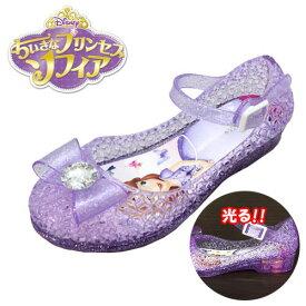 5d521b995bc87 光る靴  Disney プリンセス ソフィア 光る リボン付 ガラスの靴 PPL 7332 15〜19cm  フラッシュスニーカー ディズニー 女の子  子ども こども ビーチ グッズ 女児 ...