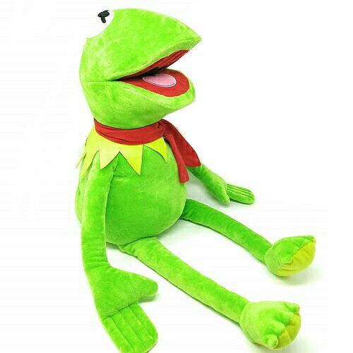 【セサミストリート カーミット 特大 デカ ぬいぐるみ 70cm 】 セサミ アメリカン雑貨 グッズ キャラクター 大人 キッズ 大きい かわいい  可愛い カエル かえる
