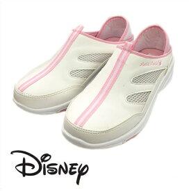 【 Disney ミッキーマウス スリッポン ピンク 6989 】ディズニー ミッキー ナースシューズ シューズ かわいい キャラクター スニーカー オフィスサンダル オフィス 軽い クッション 会社 つっかけ 楽々 おしゃれ ナース ベランダ サンダル スリッパ