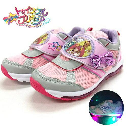 2019年【スター トゥインクル プリキュア 光る靴 フラッシュスニーカー ピンク 7505】女の子 子ども