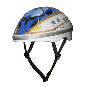 【BJ 新幹線 E7系 かがやき キッズ ヘルメット 】安全 プロテクター 電車 電車グッズ 新幹線グッズ グッズ キッズヘルメット 自転車 ストライダー キックボード スケボ