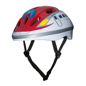 【BJ 新幹線 E6系 こまち キッズ ヘルメット 】安全 プロテクター 電車 電車グッズ 新幹線グッズ グッズ キッズヘルメット 自転車 ストライダー キックボード スケボー